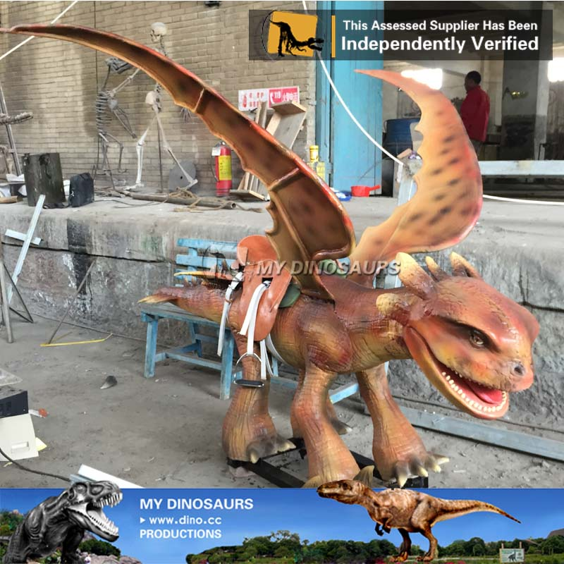 Kids Amusement Animatronic Dinosaur Rides For Sale