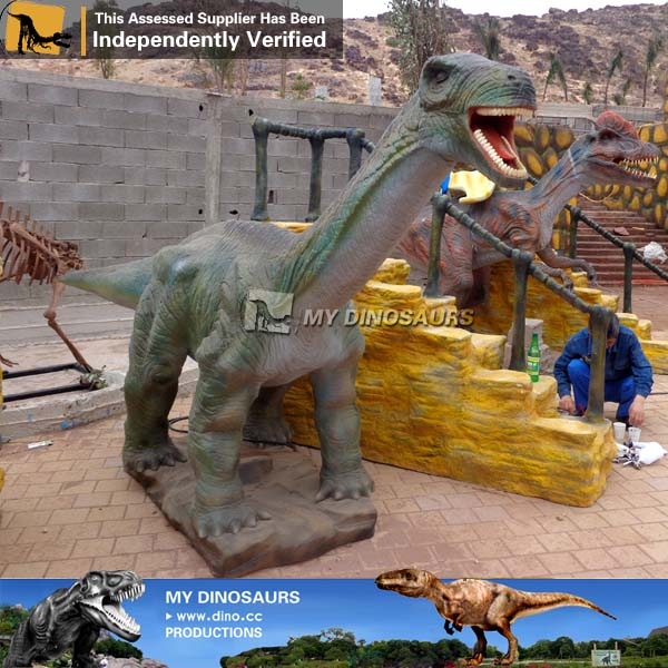 Simulation Cartoon Dinosaur Ride For Kids
