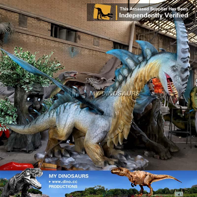 High Simulation Animatronic Flying dragon for Sale