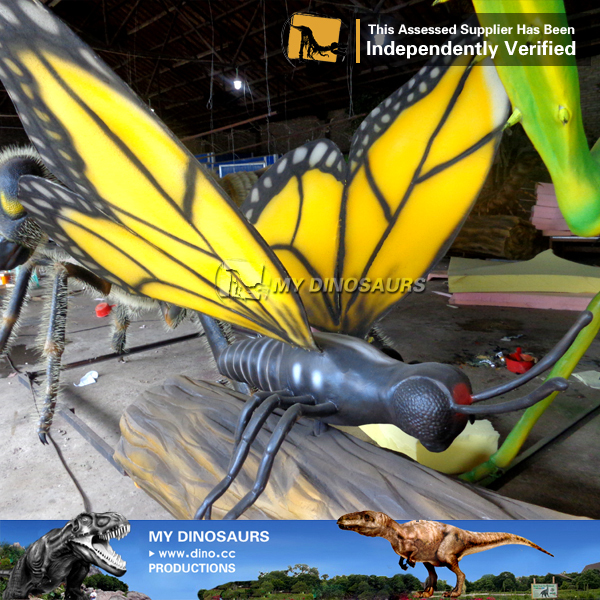 High Simulation Artificial Robotic Insects For Outdoor