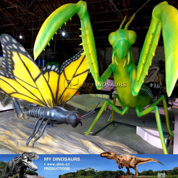 Animated Mechanical Insect Model For Shopping Mall