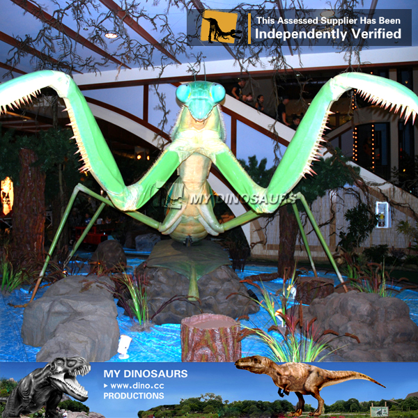 Insect Statue Plastic Battery Operated Insect Toy