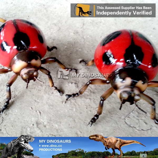 Ladybugs Model Fiberglass Giant Insect Toy
