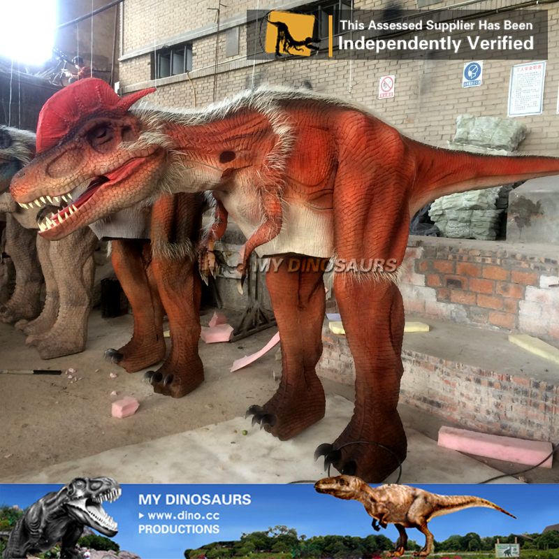 Amusement Park Dinosaur Costume Robotic Dinosaur Costume
