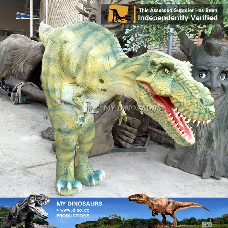 Interactive Realistic Cheap Dinosaur Costume Rental