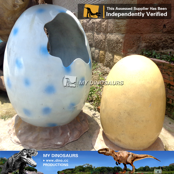 Fiberglass dinosaur eggs for Amusement Park