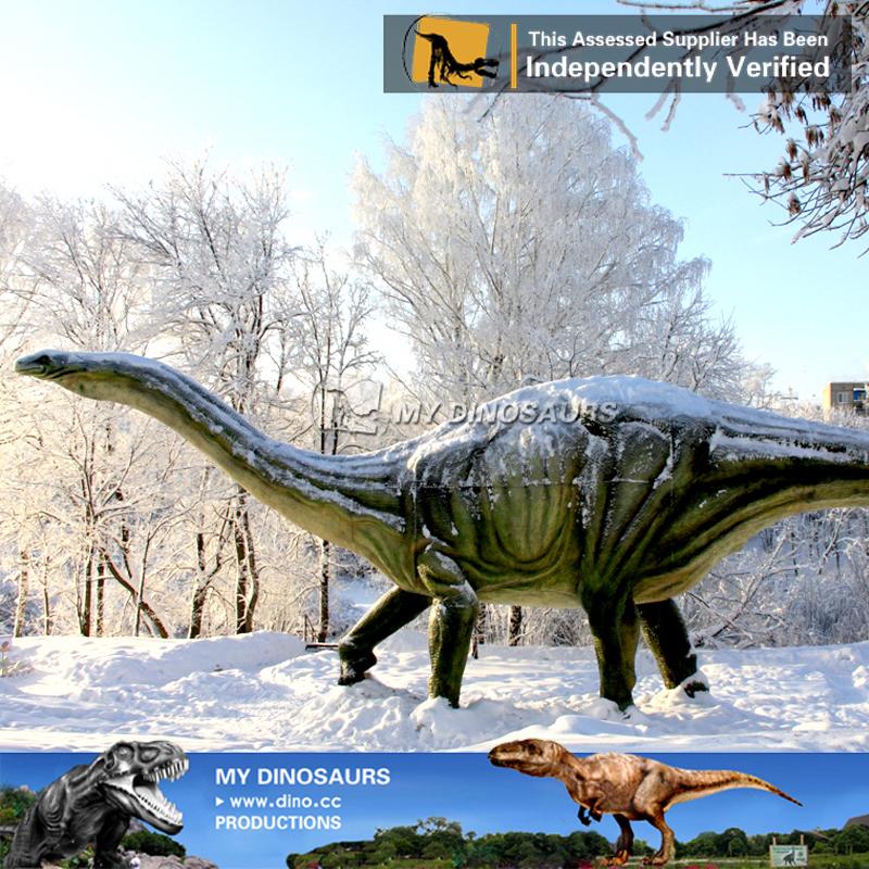 Life Size Fiberglass Dinosaur Statue For Sale