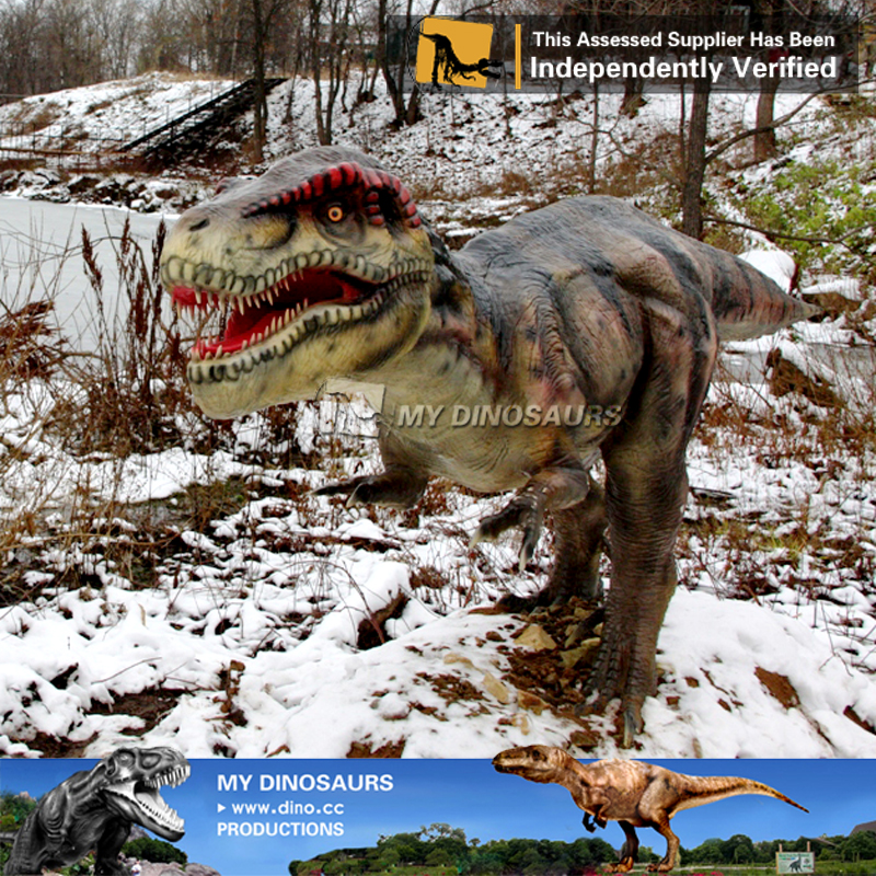 Snow Proof High Quality Giant Fiberglass Dinosaurs