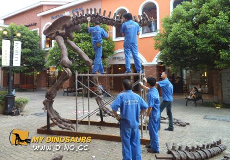 Outlets dinosaur exhibiton
