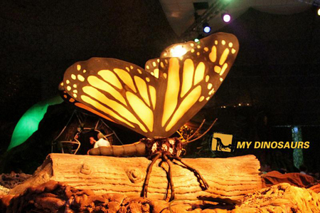 Singapore animatronic insects exhibition