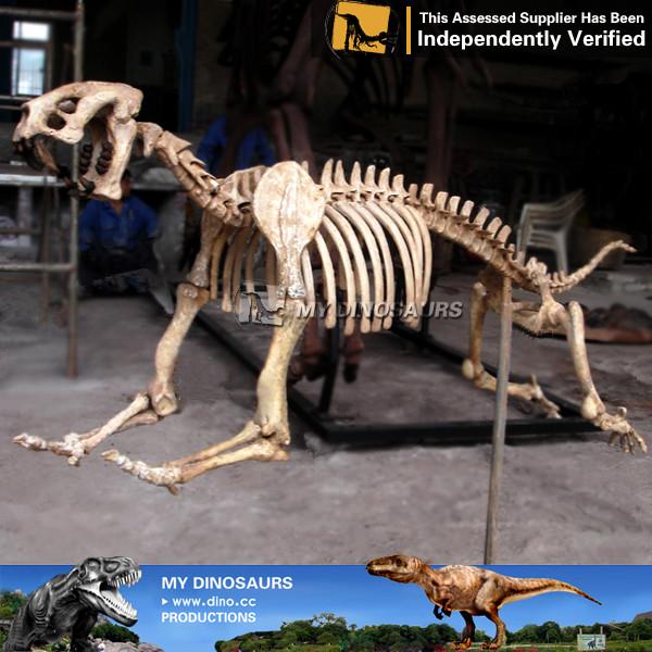 Prehistoric Animal Smilodon Skeleton Model