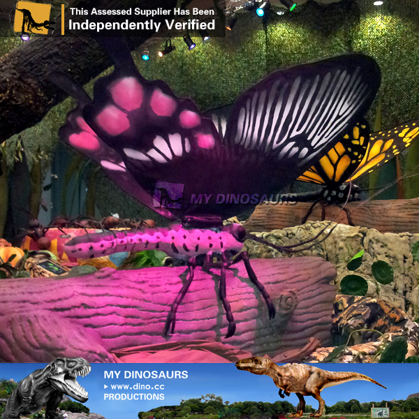 Animated Giant Animatronic Butterfly