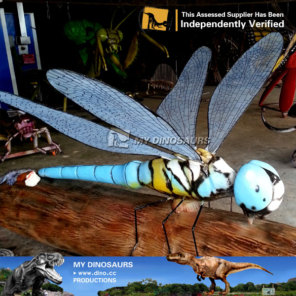 Insect Playground Sets Animatronic Dragonfly