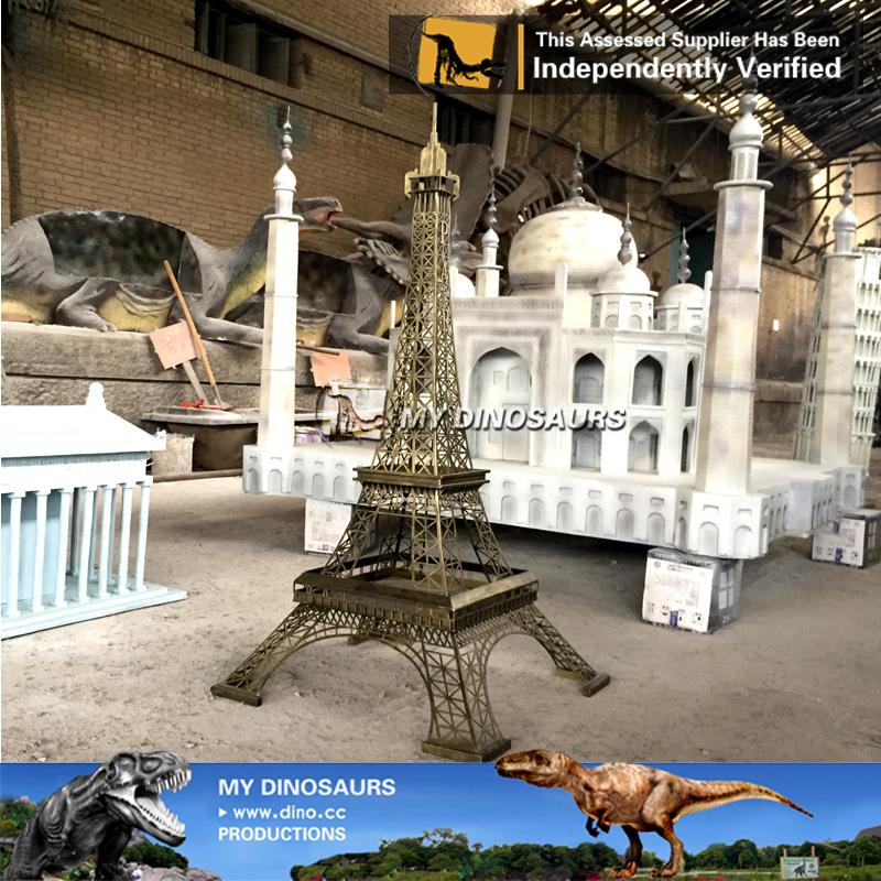 Miniature Building Statue Eiffel Tower For Sale