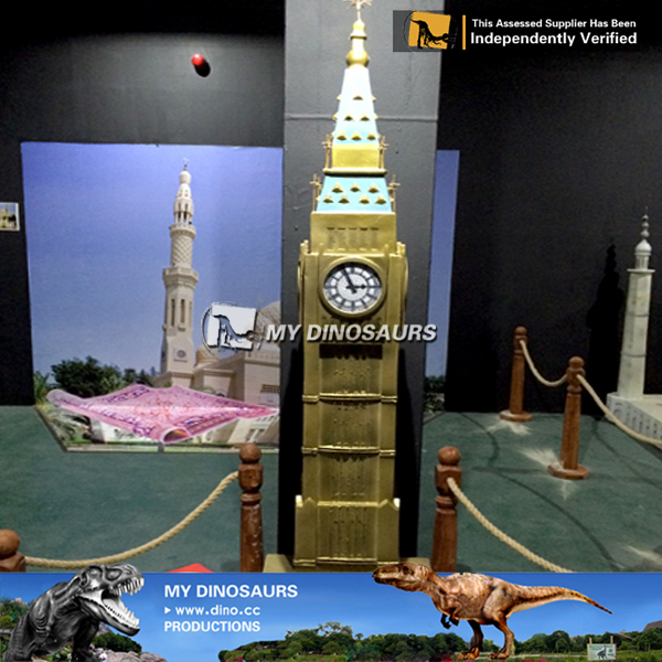 Miniature Park Big Ben Tower Sculpture For Sale