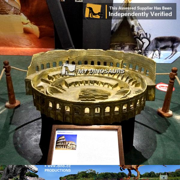 Fiberglass Colosseum Miniature