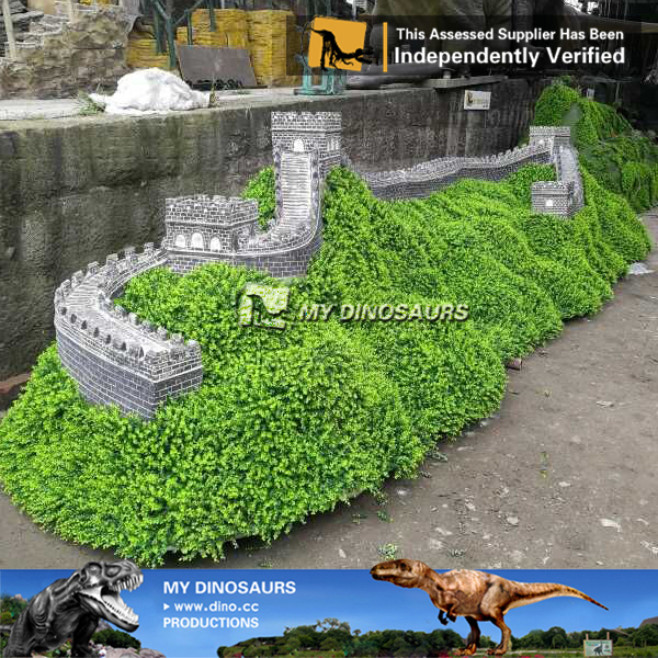 3d Miniature Building Statue Of The Great Wall