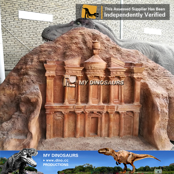 World Famous Building Miniature Petra Door For Sale
