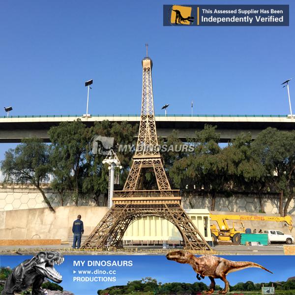 Miniature Park Miniature Buildings Sculpture Eiffel Tower For Sale