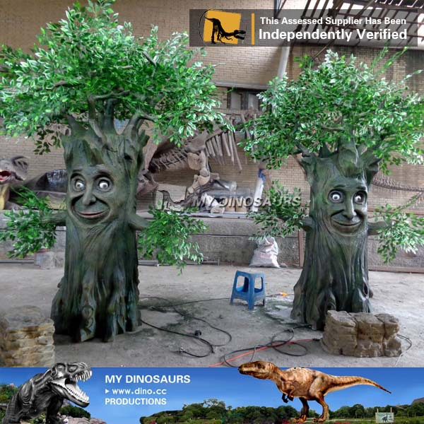 Life Size Artificial Talking Tree Of Christmas Decoration