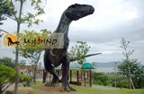 Fiberglass life size Dinosaur statue Yangchuanosaurus