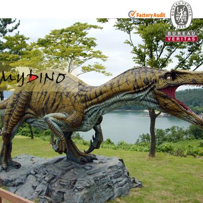 Outdoor Jurassic Park Simulation Dinosaur Baryonyx