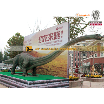 Commercial Exhibition life size dinosaur Mamenchisaurus