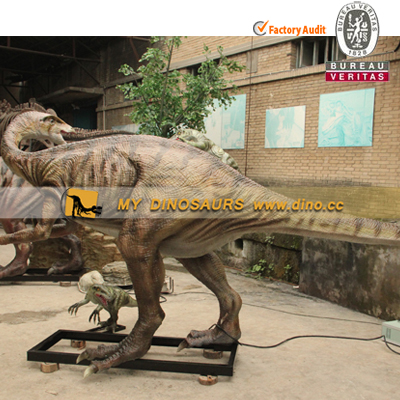 Lifelike Remote Control Simulation Segnosaurus Dinosaur Model