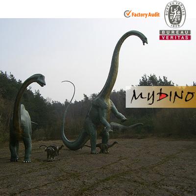 Outdoor Dinosaur Park Fiberglass Dinosaurs Statue Mamenchisaurus