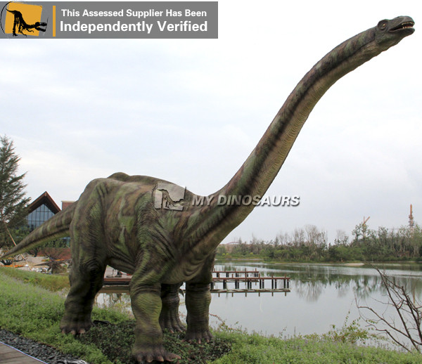 Jurassic World Dinosaur exhibition apatosaurus simulation model
