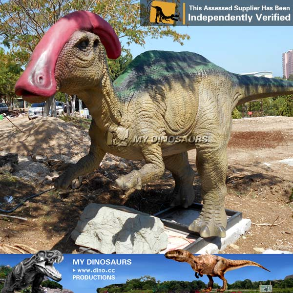 AD 011 Artificial Life Size Robotic Parasaurolophus for Sale