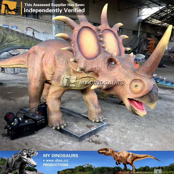 Alive Animatronic Dinosaur Model 3D Styracosaurus Dinosaur