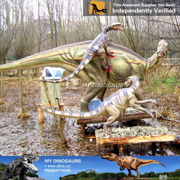 Park Sex Animal Robotic Dinosaur Fighting Dinosaurs