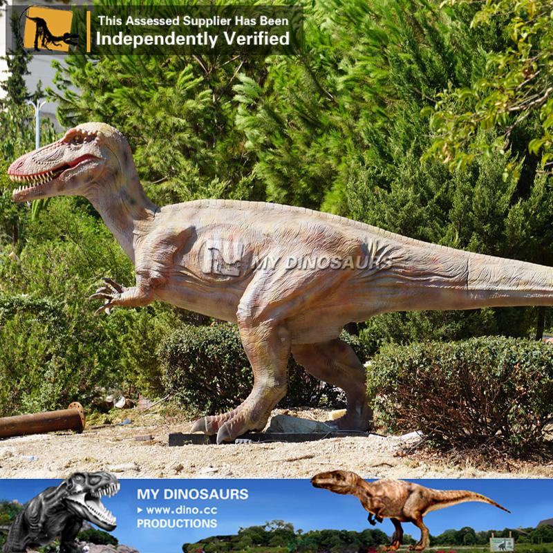 Life Size Robotic Dinosaur Qianzhousaurus Pinocchio Rex