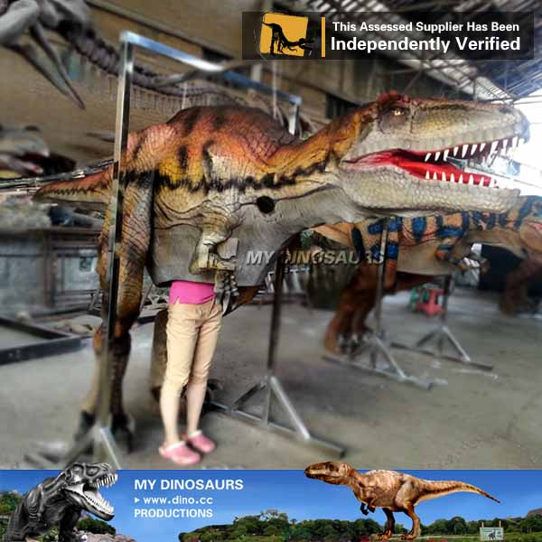 CE Certification Walking With Realistic Dinosaur Costume