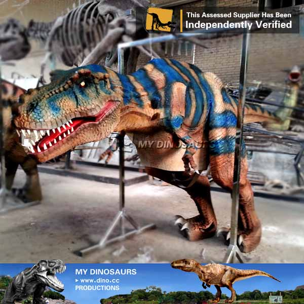 Lifelike Mechanical Realistic Dinosaur Costume For Sale