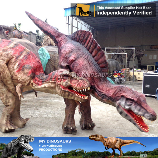 Hidden Legs Realistic Spinosaurus Dinosaur Costume For Sale