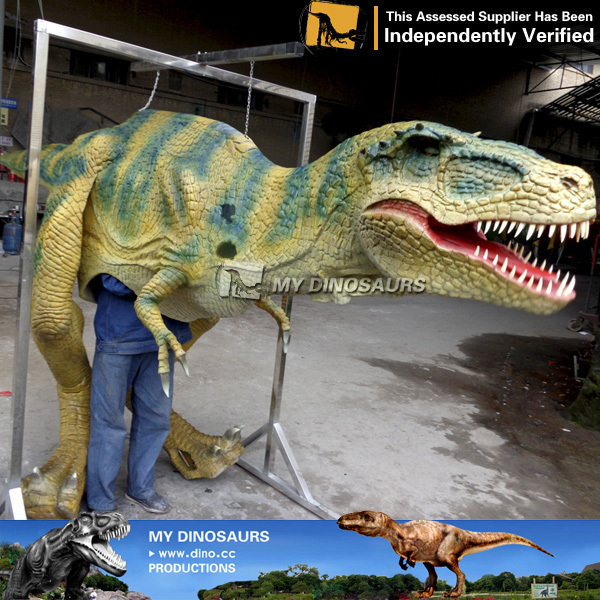Realistic Dinosaur Costume Velociraptor For Kids Birthday Party