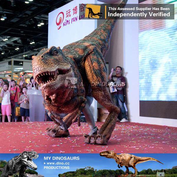 Interactive t Rex Animatronic Dinosaur Costume Rental