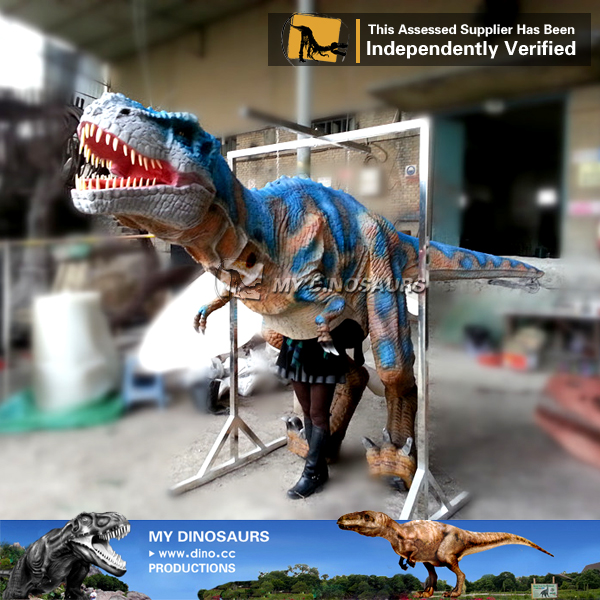 Inflatable Realistic Dinosaur Costume T Rex for Adult