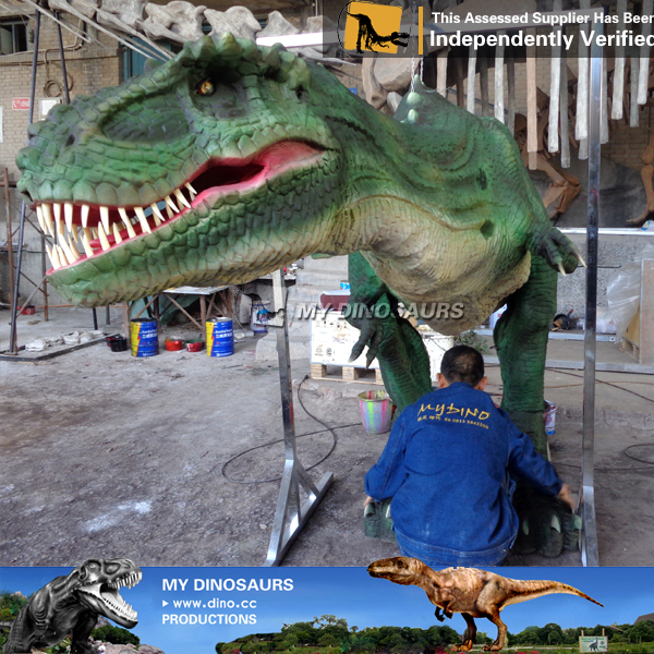 Realistic Adult Raptor Dinosaur Costume For Sale