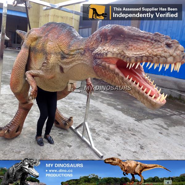 Halloween Mascot Realistic Animatronic Adult Dinosaur Costume