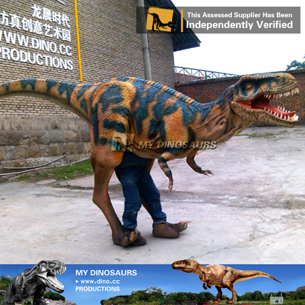 Jurassic Park Animated Walking Dinosaur Costume