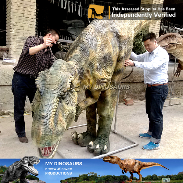 Simulation Robotic T REX Dinosaur Costume for Sale