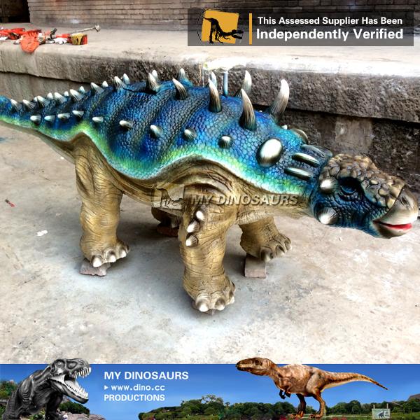 Park Theme Dinosaur Rides Carnival Ankylosaurus