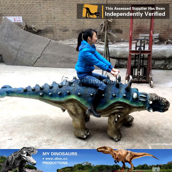 Life Size Animatronic Dinosaur Rides For Sale Ankylosaurus