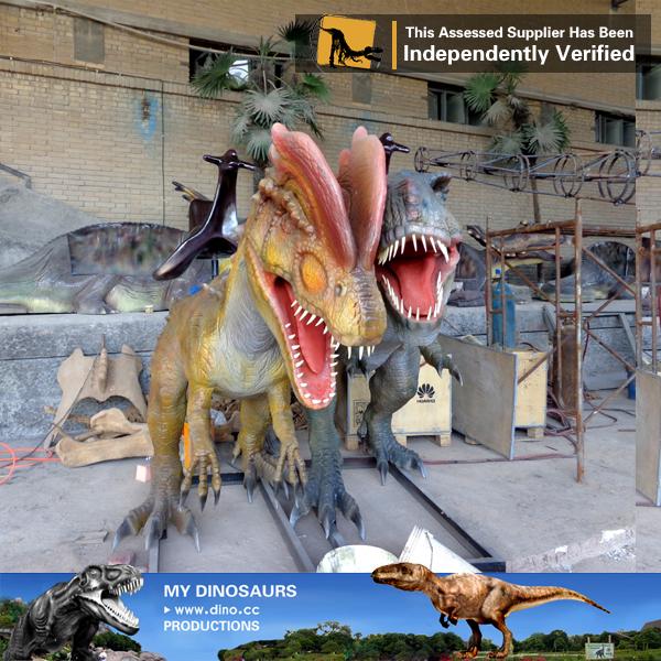 Amusement Park Rides Dinosaur Dilophosaurus Ride