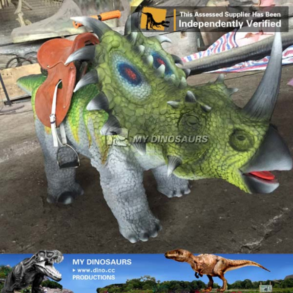 Electronic game animatronic dinosaur amusement rides