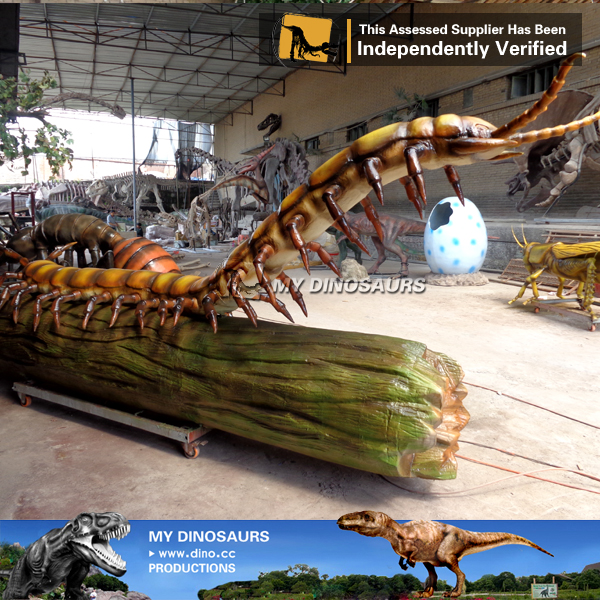 Giant Size Animatronic Insect Scolopendra