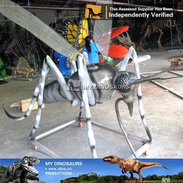Outdoor Large Animatronic insect Mosquito For Sale